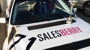 Zwycięstwo! Salesberry Rally Team